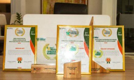 Awards de la presse numérique : le groupe Weblogy trois fois leader!