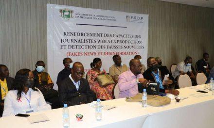Côte d'ivoire : Fakes news et désinformation/Le FSDP finance la formation des acteurs de la presse web